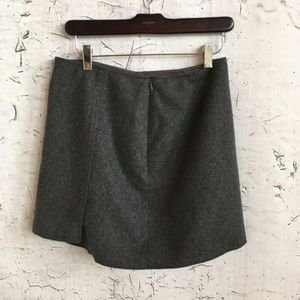 Express Skirts - EXPRESS WOOL GREY MINI SKIRT 7/8